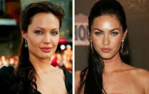Анджелина Джоли и Меган Фокс