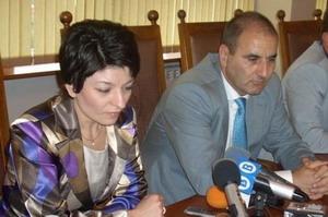 Министрите Цветанов и Атанасова