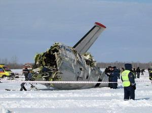 Самолет се разби, 10-те пътници оцеляха