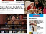 Picture: ТОП клюка! Скандалът на века! Папата бил гей?