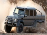 Picture: Чудовището G63 AMG - голям, брутален и готов за пясъците!