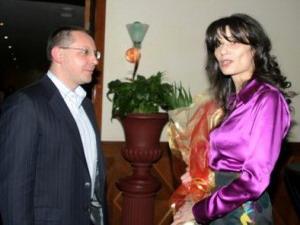 Моника Йосифова и Сергей Станишев