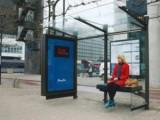 Реклама с автобусна спирка