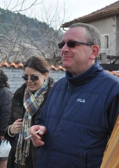 Мария Дивизиева с Петър Стоянович