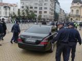 """Picture: Скандално! Кортежа на Орешарски се движи по пътищата без """"Гражданска отговорност"""""""