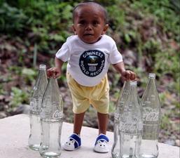 най-малкият човек на света