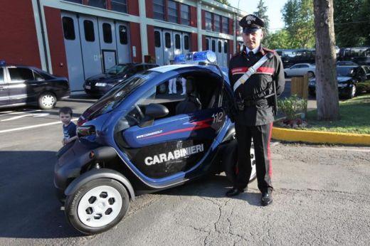 най-шантавата полицейска кола