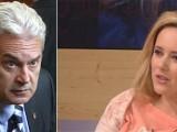 Picture: Скандал! Волен Сидеров и Лора Крумова се хванаха за гушите