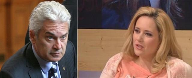 Волен Сидеров и Лора Крумова