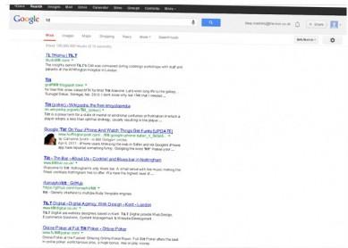 Наклонен google