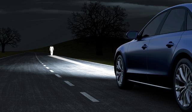 Фаровете на Audi A8