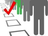 Picture: НЦИОМ: При избори днес - ГЕРБ с 22 - 23%, БСП с 19 - 20%,