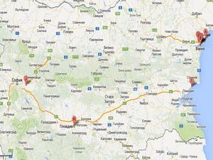 Протест от София до Варна