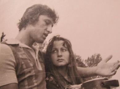 Ангел Найденов и бившата му съпруга