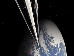 Космически асансьор