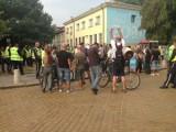 Picture: Един (контра) протестен ден в центъра на София