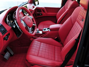 Салон на Mercedes-Benz G 63 AMG 6x6