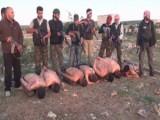 Picture: Сирийски ГЛАВОРЕЗИ показно екзекутират пленници (ВИДЕО 18+)