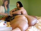 Picture: 500-килограмова жена, обвинена в убийство, успя да свали 270 кг.!