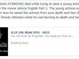"""Picture: Ето я Истината за """"смъртта"""" на Мистър Бийн!"""
