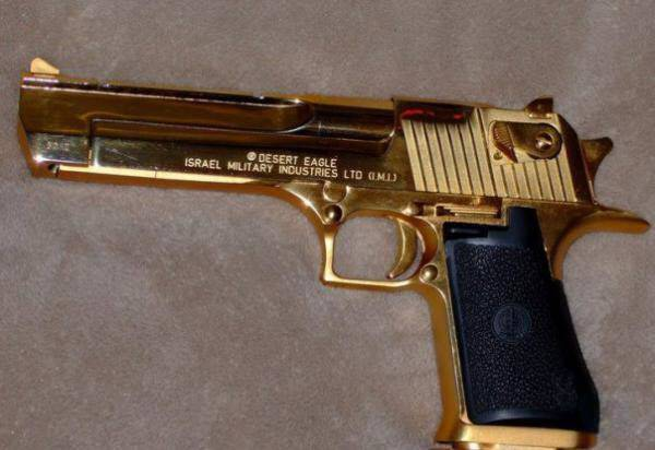 Златен пистолет на Саддам Хюсейн