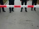 Picture: Полицията блокира центъра на София заради протест пред МВР