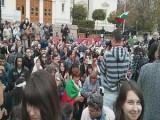 разрастване на протестите