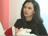 Picture: Адреналинката Жана показа за първи път бебето си! (ФОТО)