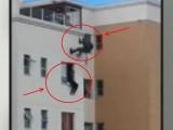 Picture: Уникално ВИДЕО! Вижте как командос спасява живота на самоубиец!