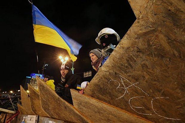 протест до ПОБЕДА в Киев