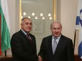 Picture: Тел Авив: Премиерът на Израел уважи експремиера Борисов