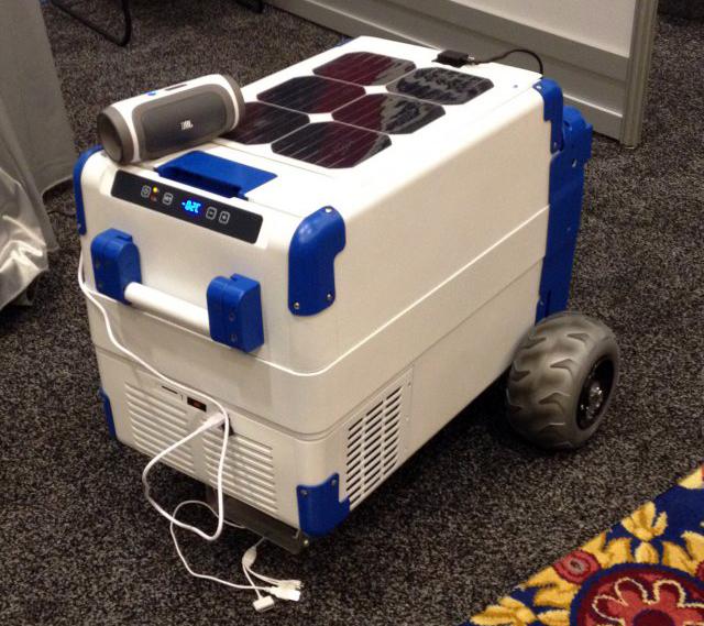 Хладилник със слънчеви батерии