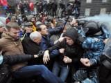 Picture: Кървави сблъсъци между протестиращи и полиция в Киев