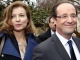 Франсоа Оланд и жена му