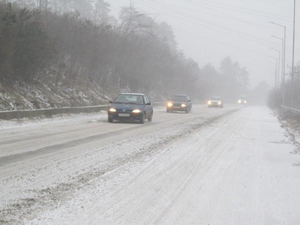 Зимната обстановка в България