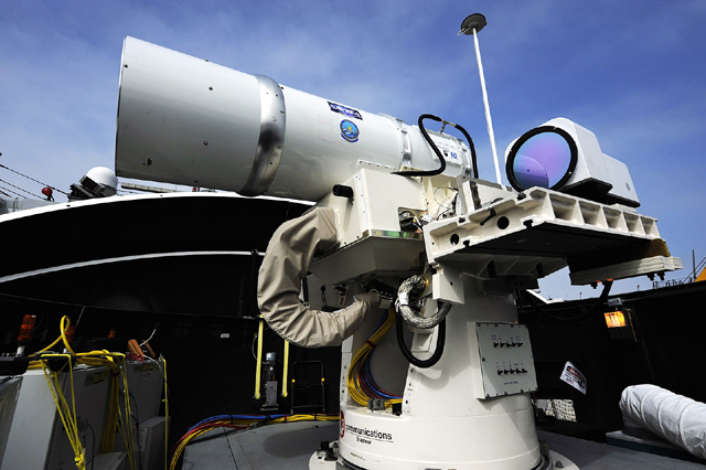 американско лазерно оръжие LaWS