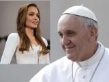 Picture: Папа Франциск и Анджелина Джоли – сред най - обичаните