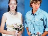 Picture: Анджелина и Брад Пит като малки! Уникално ФОТО!