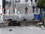 Picture: Експлозия пред централната банка в Атина, във възлов момент за Гърция