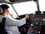 Picture: Кристалина Георгиева стана лицензиран пилот на Канада ер