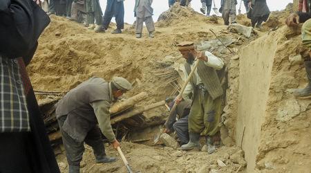 Афганистан свлачище