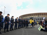 Picture: Бразилски полицаи се заканват да раздрусат Световното по футбол
