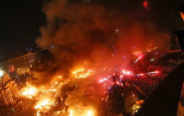 Кървава нощ в Украйна