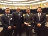 Picture: Бойко Борисов се срещна с еврокомисаря по енергетиката Гюнтер Йотингер в Страсбург