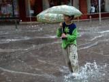 Picture: Поройни дъждове се изсипаха над Черноморието в събота
