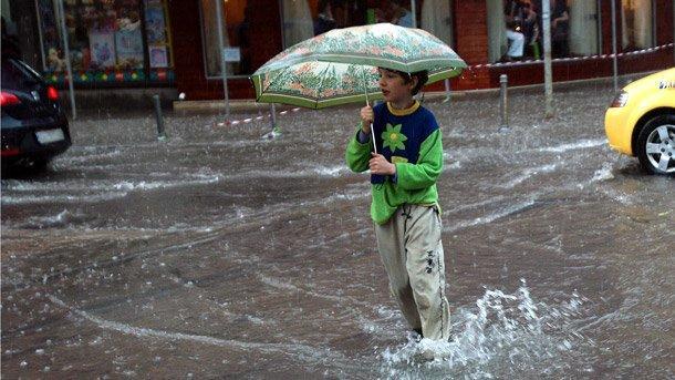 дъждове се изсипаха над Черноморието