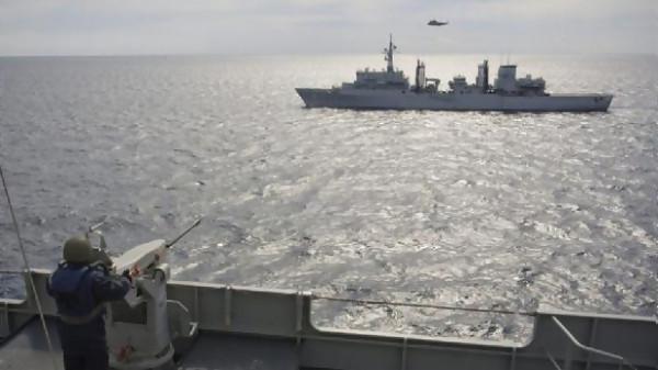 бойни учения в Черно море