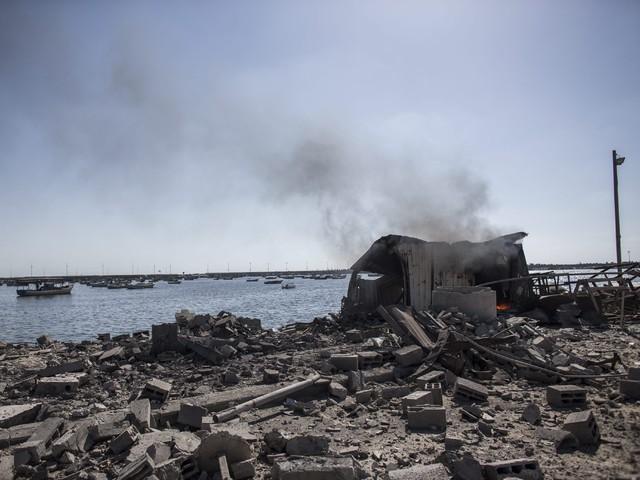 Огънят по ивицата Газа