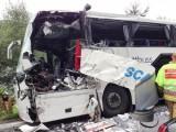 сблъсък на полски и украински автобус