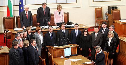 правителството на Орешарски